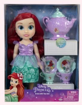NEW-Disney-Princess-Toddler-Ariel-Doll-and-Tea-Set on sale