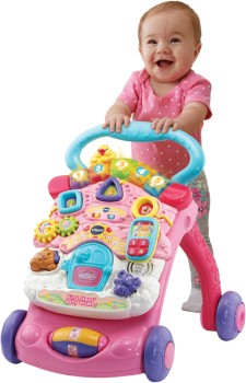 Vtech-First-Step-Baby-Walker-with-Detachable-Learning-Centre-Pink on sale