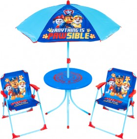 NEW-Paw-Patrol-Character-Patio-Set on sale