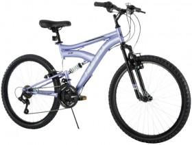 Huffy-Rock-Creek-60cm-Dual-Suspension-18-Speed-Mountain-Bike-Girls on sale
