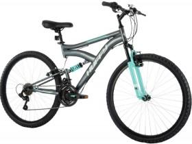 Huffy-Rock-Creek-66cm-Dual-Suspension-18-Speed-Mountain-Bike-Women on sale