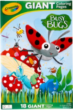 NEW-Crayola-Busy-Bugs-Colouring-Pages on sale