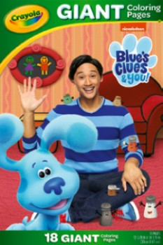 NEW-Crayola-Blues-Clues-Colouring-Pages on sale