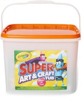 Crayola-Super-Art-Craft-Tub on sale