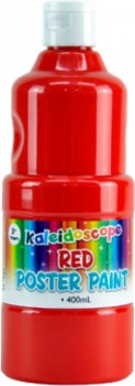 Kaleidoscope-Poster-Paints-400ml-Red on sale