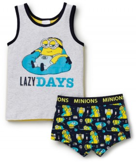 Minions-Kids-Singlet-and-Trunk on sale