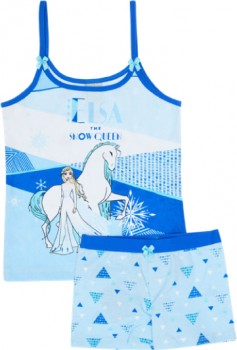 Frozen-Kids-Licensed-Cami-and-Shortie-Set-Blue on sale