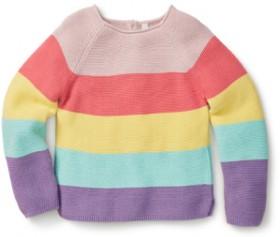 K-D-Kids-Rainbow-Stripe-Tee on sale