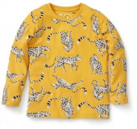 K-D-Kids-Organic-Tee-Yellow on sale