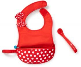 B.Box-Minnie-Bib-and-Spoon-set on sale