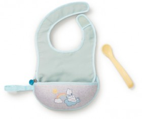 B.Box-Pooh-Bib-and-Spoon-set on sale
