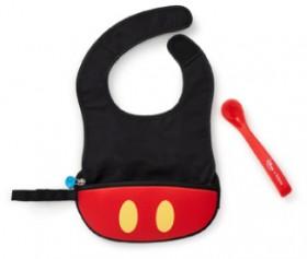 B.Box-Mickey-Bib-and-Spoon-set on sale
