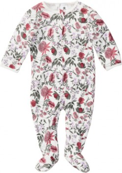 Dymples-Zip-Coverall-Floral on sale