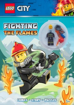 LEGO-Activity-Book-with-Minifigure-Fighting-the-Flames on sale