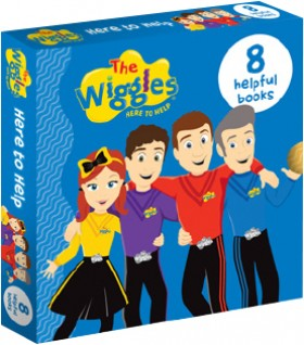 NEW-The-Wiggles-Here-to-Help-8-Book-Slipcase on sale