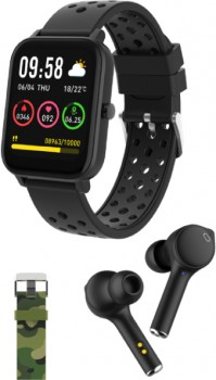 NEW-DGTEC-Kids-Smartwatch-Bundle-Black on sale