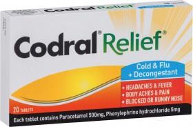 Codral-Relief-Cold-Flu-Decongestant-Tablets-20-Pack on sale