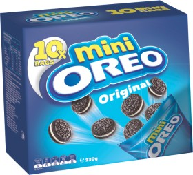 Oreo-Mini-10-Pack-Selected-Varieties on sale