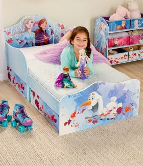 NEW-Frozen-Toddler-Bed-with-Storage on sale