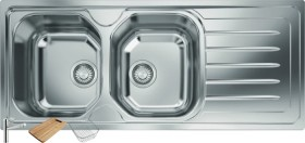 Franke-Ondaline-Double-Bowl-Sink-Right-Hand-Side on sale