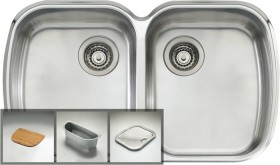 Oliveri-Monet-Double-Bowl-Undermount-Sink on sale