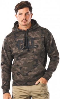 NEW-CAT-Trademark-Hooded-Sweatshirt on sale