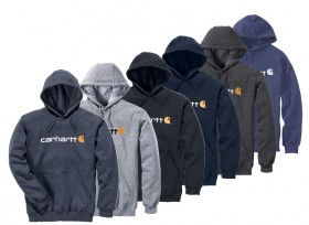 Carhartt-Signature-Logo-Mid-weight-Sweatshirt on sale