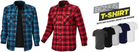 NEW-ELEVEN-Quilted-Flannel-Shacket on sale