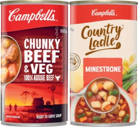 Campbells-Country-Ladle-or-Chunky-Soup-495g-505g on sale