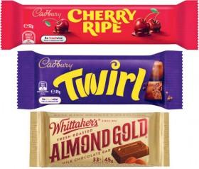 Cadbury-Medium-Bar-30g-60g-or-Whittakers-Slab-45g-50g on sale
