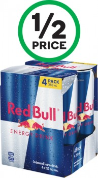 Red-Bull-Energy-Drink-4-x-250ml on sale