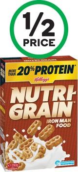 Kelloggs-Nutri-Grain-290g-or-Crunchy-Nut-Cornflakes-380g on sale