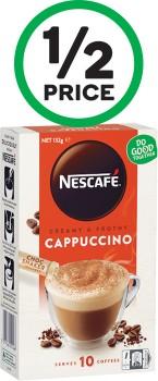 Nescafe-Coffee-Sachets-Pk-10-or-Gold-Coffee-Sachets-Pk-8 on sale