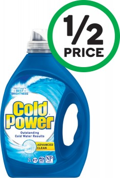 Cold-Power-Advanced-Clean-Laundry-Liquid-1.82-Litre-or-Powder-1.82-kg on sale