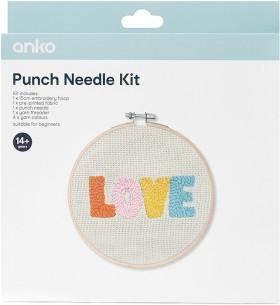 Punch-Needle-Kit-Love on sale