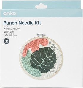 Punch-Needle-Kit-Monstera on sale
