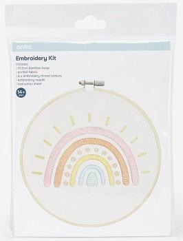 Embroidery-Kit-Rainbow on sale