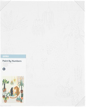 Paint-by-Numbers-Leopard-Lady on sale