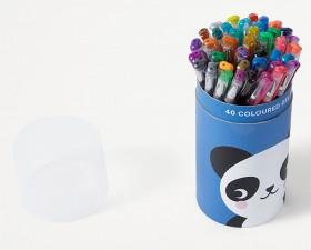 40-Pack-Coloured-Gel-Pens on sale