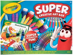 Crayola-Super-Creative-Art-Box on sale