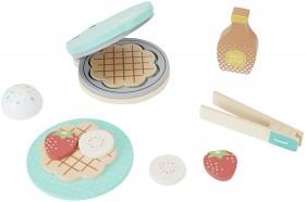 11-Piece-Wooden-Waffle-Maker on sale