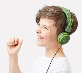NEW-On-Ear-Wired-Headphones-Camo on sale