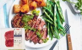Coles-Australian-No-Added-Hormones-Beef-Scotch-Fillet-Steak-2-Pack-510g on sale