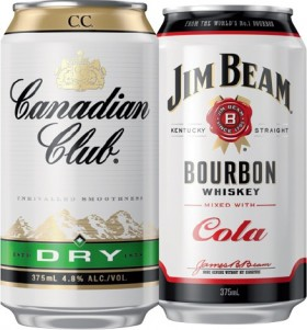 Canadian-Club-Dry-4.8-or-Jim-Beam-Cola-4.8-Varieties-10-Pack on sale